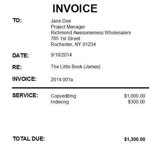 Database Invoice